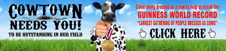 Guinness World Record Attempt – Cow Muster